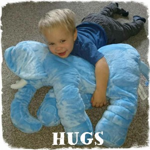 Hugs and Cuddles With One of Our Best Sellers!!