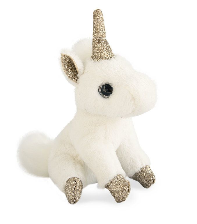 Historie D' Ours Unicorn Keyring